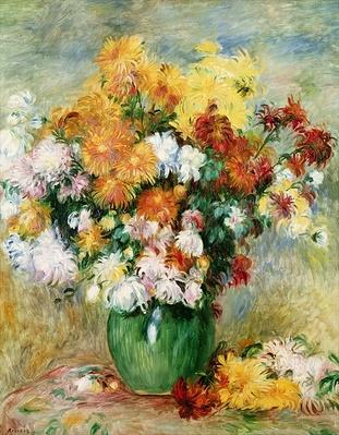 Bouquet of Chrysanthemums, c.1884
