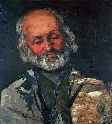 Head of an Old Man, c.1866