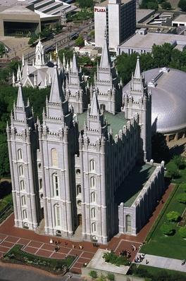 Mormon temple, Salt Lake City, UT | World Religions: Mormonism