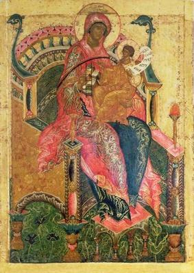Virgin and Child, Moscow School