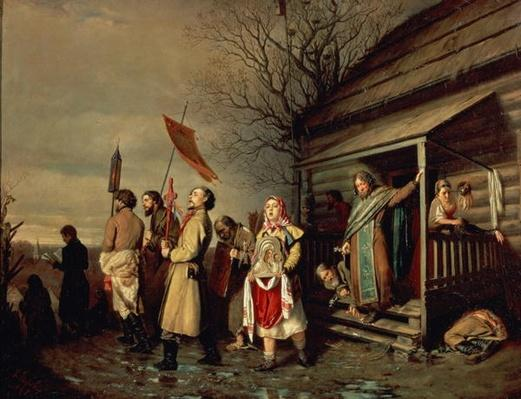 Easter Procession, 1861