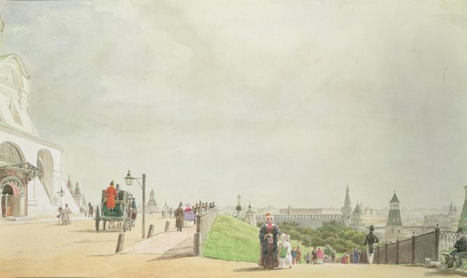 The Kremlin, Moscow, 1839