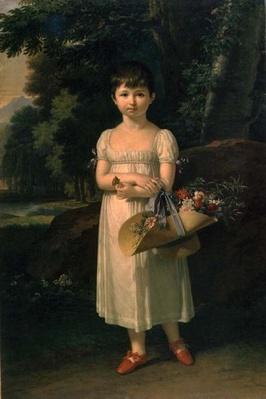Portrait of Amelia Oginski, 1808