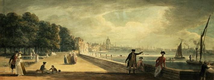 View of the City from the Terrace of Somerset House