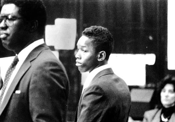Korey Wise During His Arraignment | Ken Burns: The Central Park Five