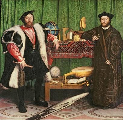 The Ambassadors, 1533