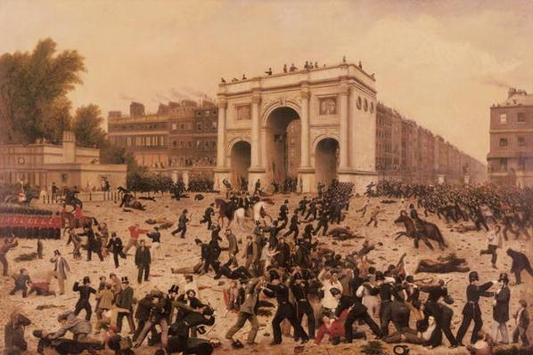 Manhood Suffrage Riots in Hyde Park, 1866