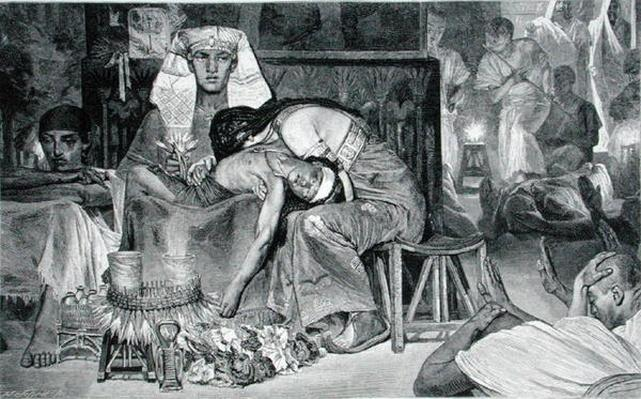 The Death of the Firstborn, 19th century