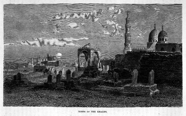 Tombs of the Khalifs, 19th century