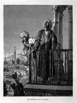 The Muezzin's Call to Prayer, 19th century