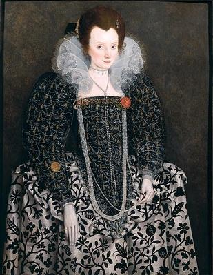 Portrait of a Woman, traditionally identified as Mary Clopton