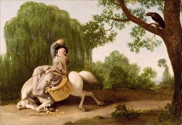 The Farmer's Wife and the Raven, 1786