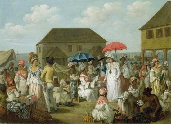 Linen Market, Dominica, c.1780