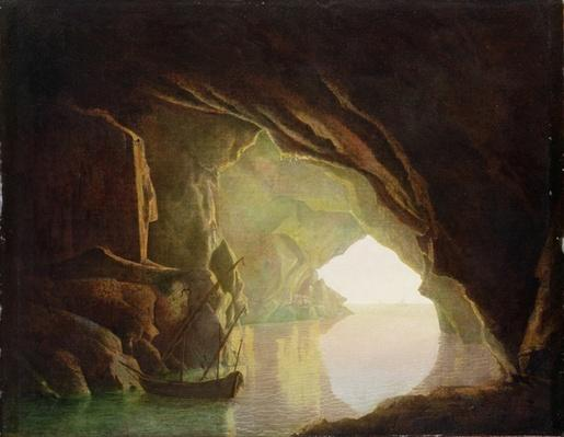 A Grotto in the Gulf of Salerno, Sunset, c.1780-1