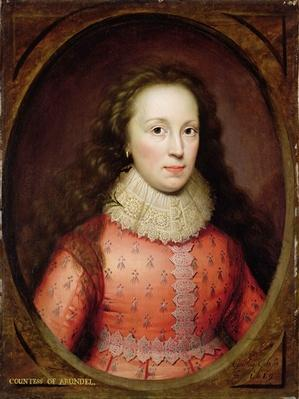 Portrait of a Woman, traditionally identified as the Countess of Arundel, 1619