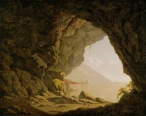 Cavern, Near Naples, 1774