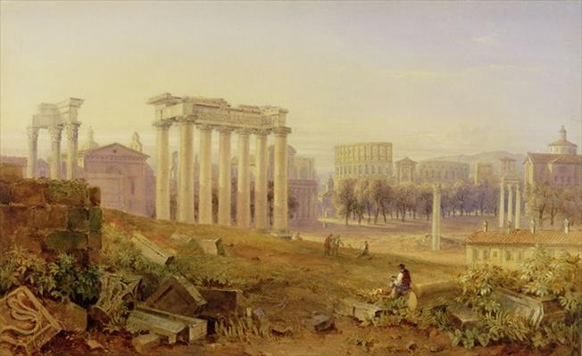 Across the Forum, Rome, 1828