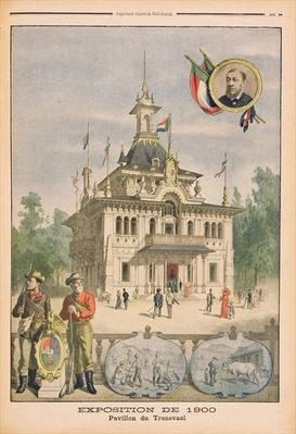 The Transvaal pavilion at the Universal Exhibition of 1900, Paris, illustration from 'Le Petit Journal', supplement illustre, 25th March 1900