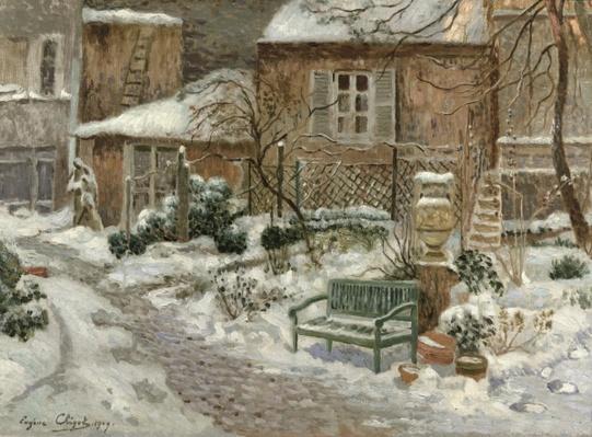 The Garden under Snow, 1909