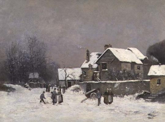Paysage D'Hiver, 19th century