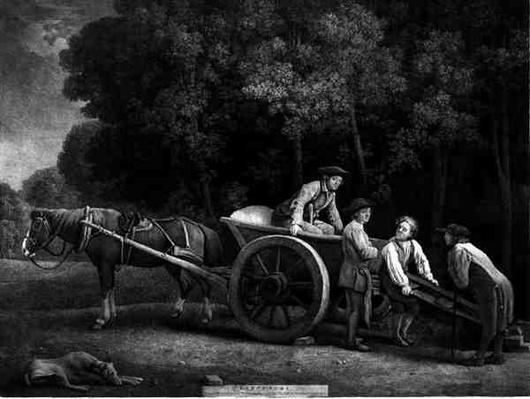 Labourers, engraved by the artist, pub. 1789