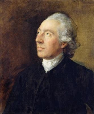 The Rev. Humphrey Gainsborough, c.1770-4