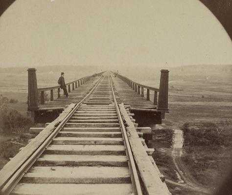 High Bridge Crossing, Appomattox, VA | Ken Burns: The Civil War