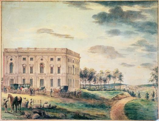 A View of the Capitol of Washington before it was Burnt Down by the British, c.1800