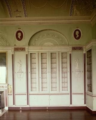 Heveningham Hall, Suffolk: library, 1778-80