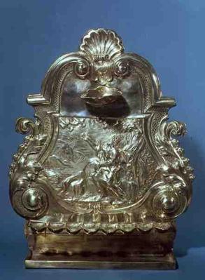Hanukah Lamp, made by John Ruslen, 1709