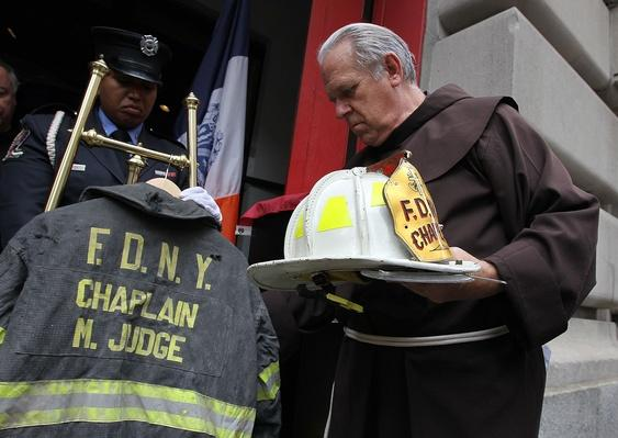 New York Fire Fighters Commemorate 10th Anniversary of 9/11 Attacks | 9/11: We Will Never Forget
