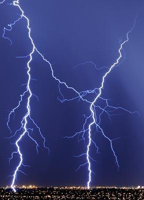 Thunderstorm Rolls Through Las Vegas   Weather