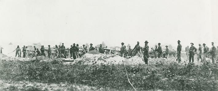 Pennsylvania Artillerymen Demonstrate, 1864 | Ken Burns: The Civil War