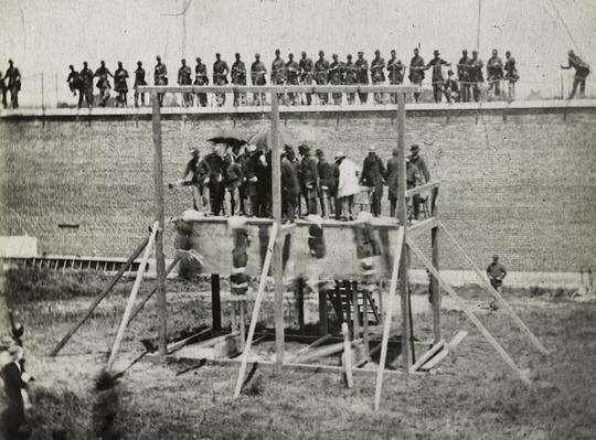 Execution of the Lincoln Conspirators, July 7, 1865 | Ken Burns: The Civil War