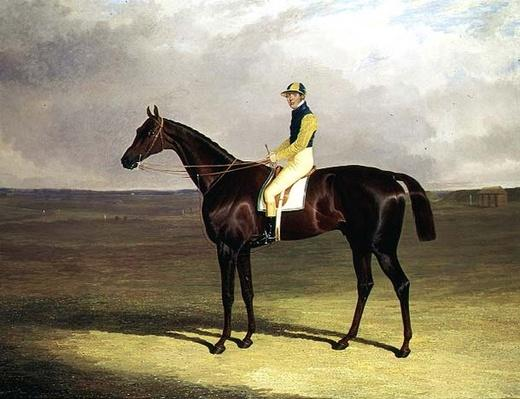 Mr. M. Stanley's 'Crutch' on Newmarket Heath, 1833