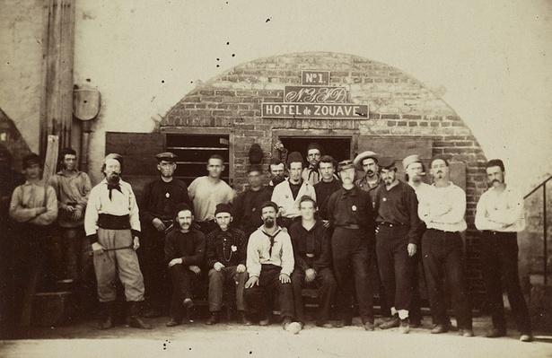 "Captured Union ""Fire Zouaves"" at Castle Pinckney, SC | Ken Burns: The Civil War"