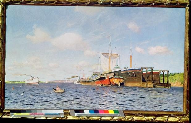 Fresh Wind on the Volga, 1895
