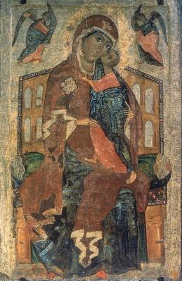 The Virgin of the Tolg, Yaroslavl School, 13th century
