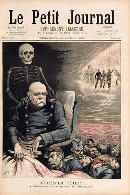 After the Party: Birthday of the Prince of Bismarck, from 'Le Petit Journal', 14th April 1895