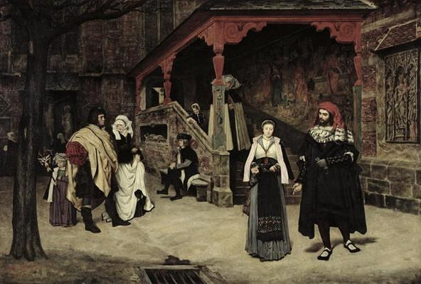 The Meeting of Faust and Marguerite, 1860