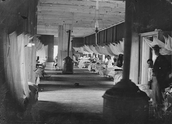Harewood Army Hospital, 1864 | Ken Burns: The Civil War