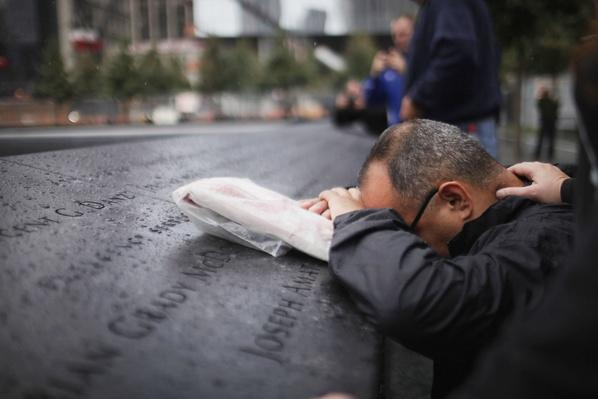 Mayor and City Officials Lay Wreath At 9/11 Memorial | 9/11: We Will Never Forget