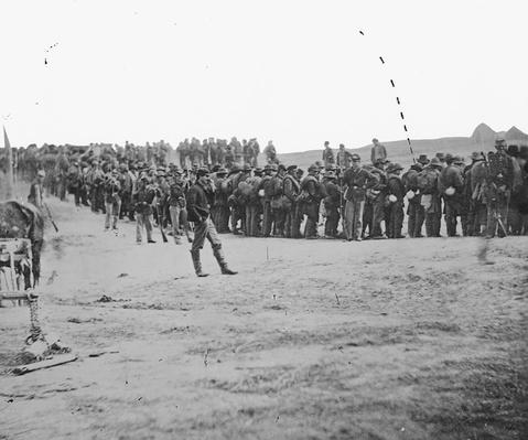 Confederate Prisoners at Five Forks, VA | Ken Burns: The Civil War