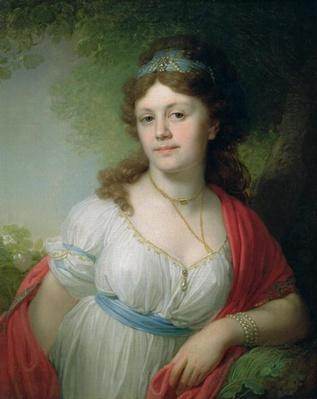 Portrait of E. Temkina, 1798