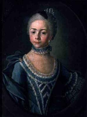 Portrait of Countess Sophie Matiuskina