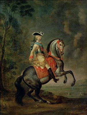 Portrait of Grand Duke Peter III