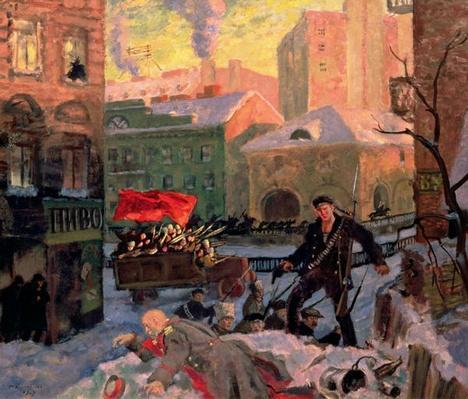 October 1917 in Petrograd