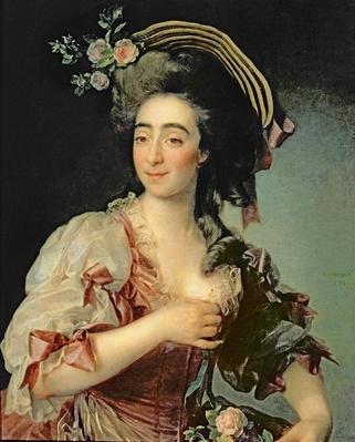 Portrait of Anna Davia-Bernucci, 1782