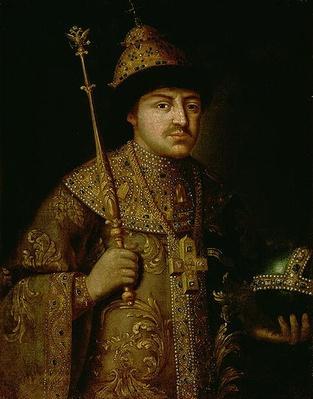 Portrait of Tsar Fyodor III Alexeevich
