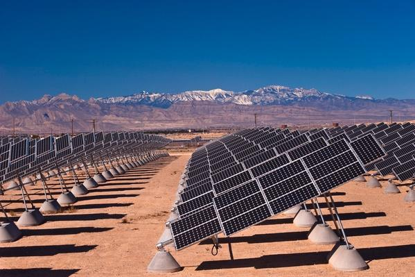 Nellis Photovoltaic Solar Power Plant, Nellis Air Force Base | Earth's Resources